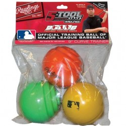 Rawlings Curve Train Ball