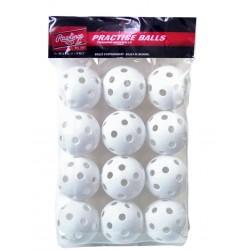 PLBB-W12 rawlings 6 balls pack
