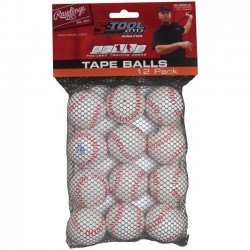 "TAPEBALL12IN - Rawlings 5-Tool Training Tape Ball 5"" 12 palle"