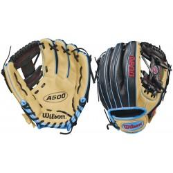 WTA05RB18115-Wilson A500 Baseball Glove 11.5
