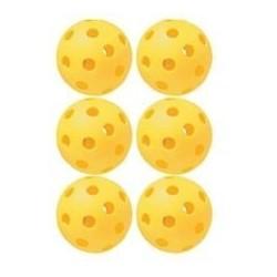 PLSB-Y6 PLASTIC SOFTBALLS 6PZ