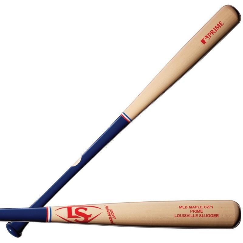 MLB PRIME MAPLE EL3-I13 FLAME WITH BLACK BASEBALL BAT