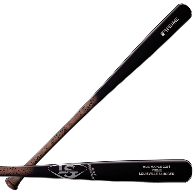 MLB PRIME MAPLE C271 MINER BASEBALL BAT