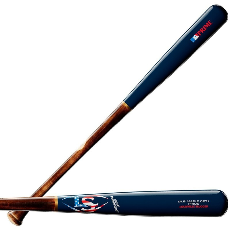 MLB PRIME MAPLE C271 PATRIOT BASEBALL BAT