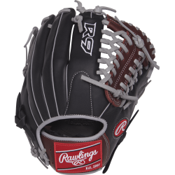 R9205-4BSG-3/0 -R9 SERIES 11.75 IN INFIELD/PITCHER GLOVER9 SERIES 12.75 IN OUTFIELD GLOVE