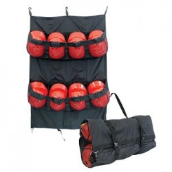 E21B - 8 HELMET FENCE/CARRY BAG BLACK