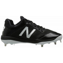 New Balance 4040v4 Steel Spike Baseball Cleats - L4040BK4