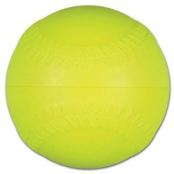 FOAM PITCHING MACHINE SOFTBALL - YELLOW
