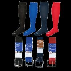 Louisville Slugger Combinato calzino-cintura Slg Belt-Sock