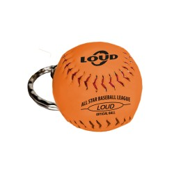 LOUD SOFTBALL KEYCHAIN ORANGE