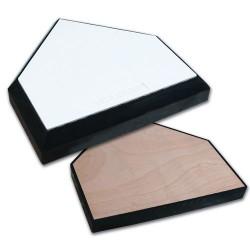 B035 - Home Plate Wood Bottom